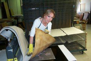 Carolyn Kinder, the inspiration behind the design
