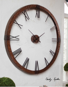 Carolyn Kinder Amarion Oversized Wall Clock