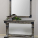Carolyn Kinder Nelo Rustic Mirror