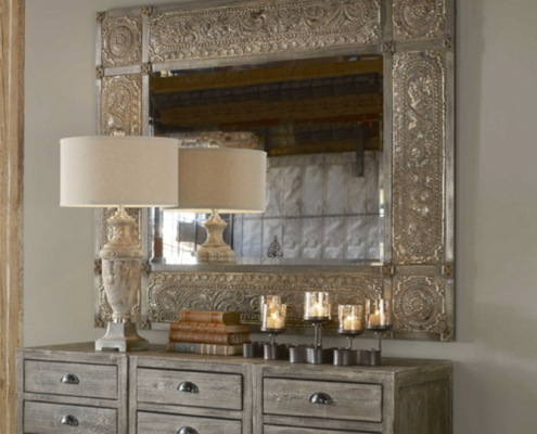 Carolyn Kinder Harvest Serenity Ornate Mirror