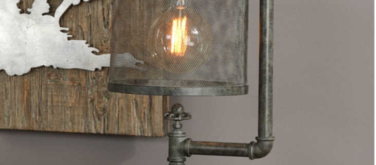 Carolyn Kinder Bristow Industrial Lamp