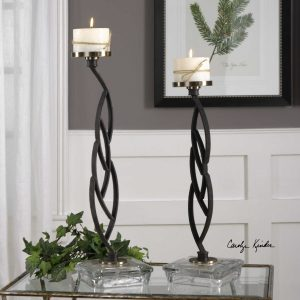 Mahin candle holders