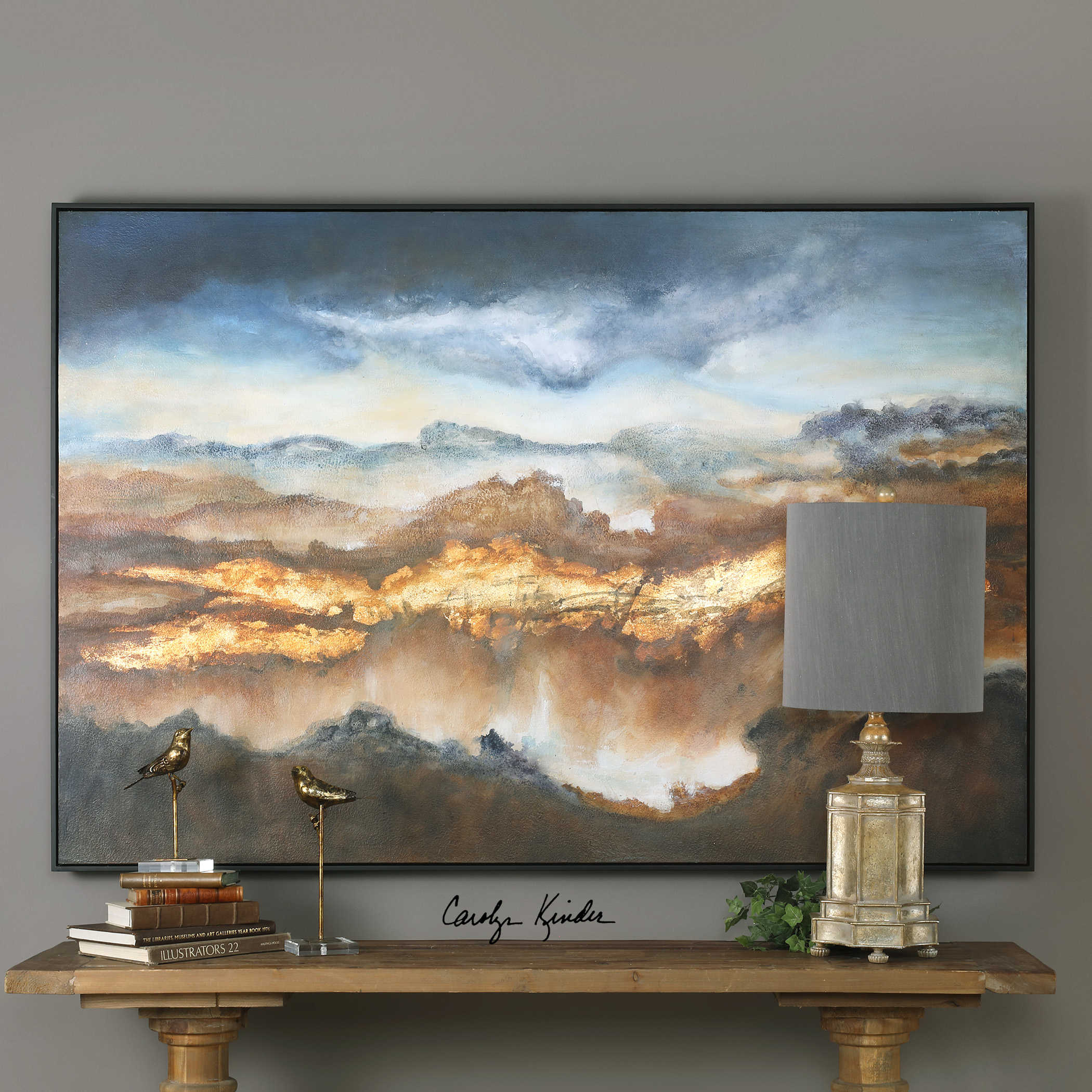 Valley of light wall art carolyn kinder international valley of light wall art mozeypictures Image collections