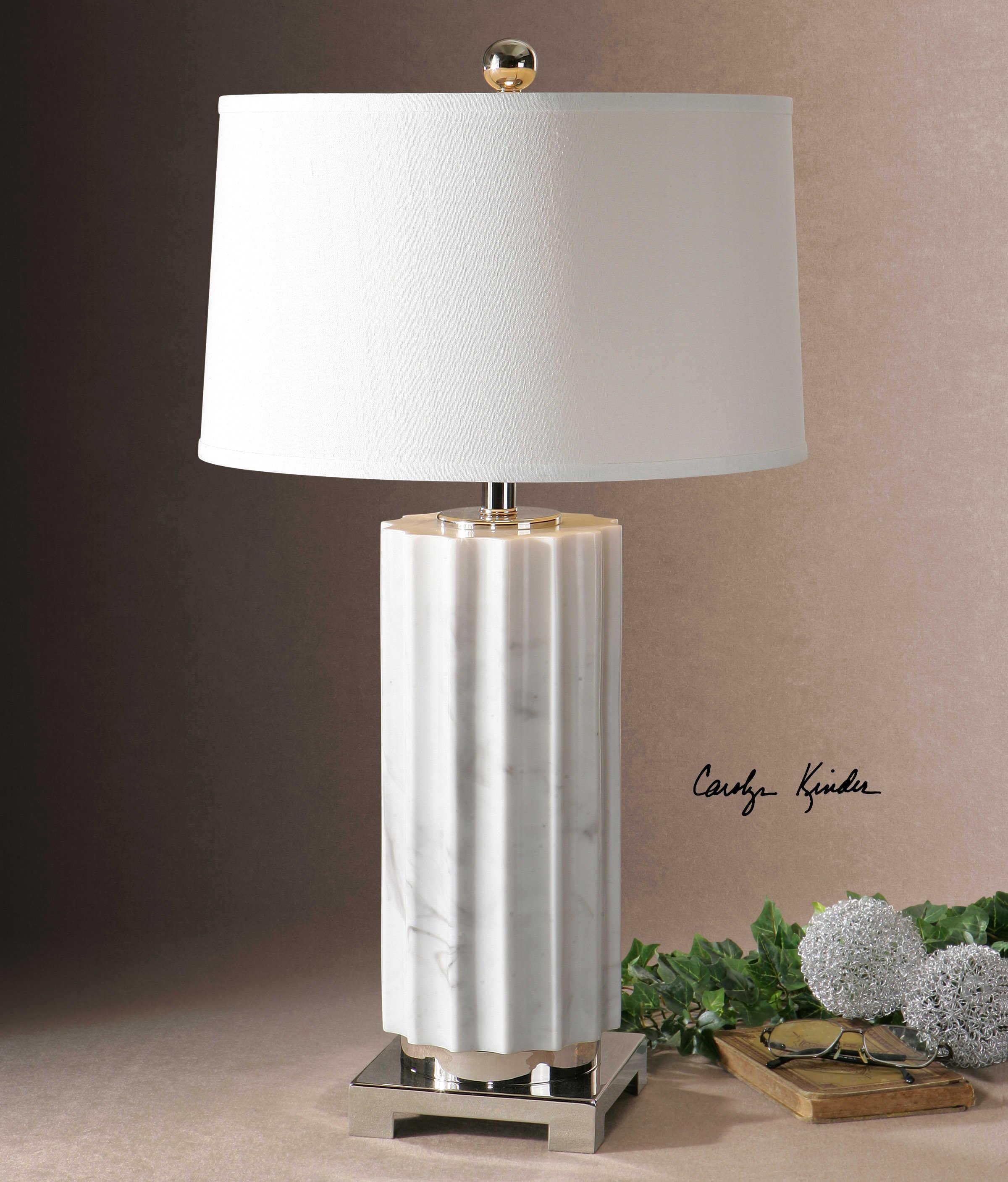 hero gray marble hi table moran res lamp