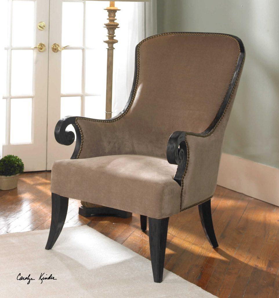 Kandy Velvet Armchair
