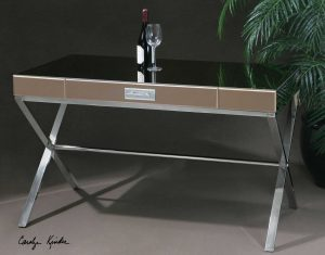 Lexia Stainless Steel Desk