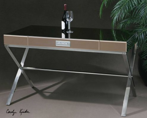 Lexia Stainless Steel Desk