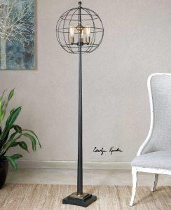 Palla Round Gage Floor Lamp