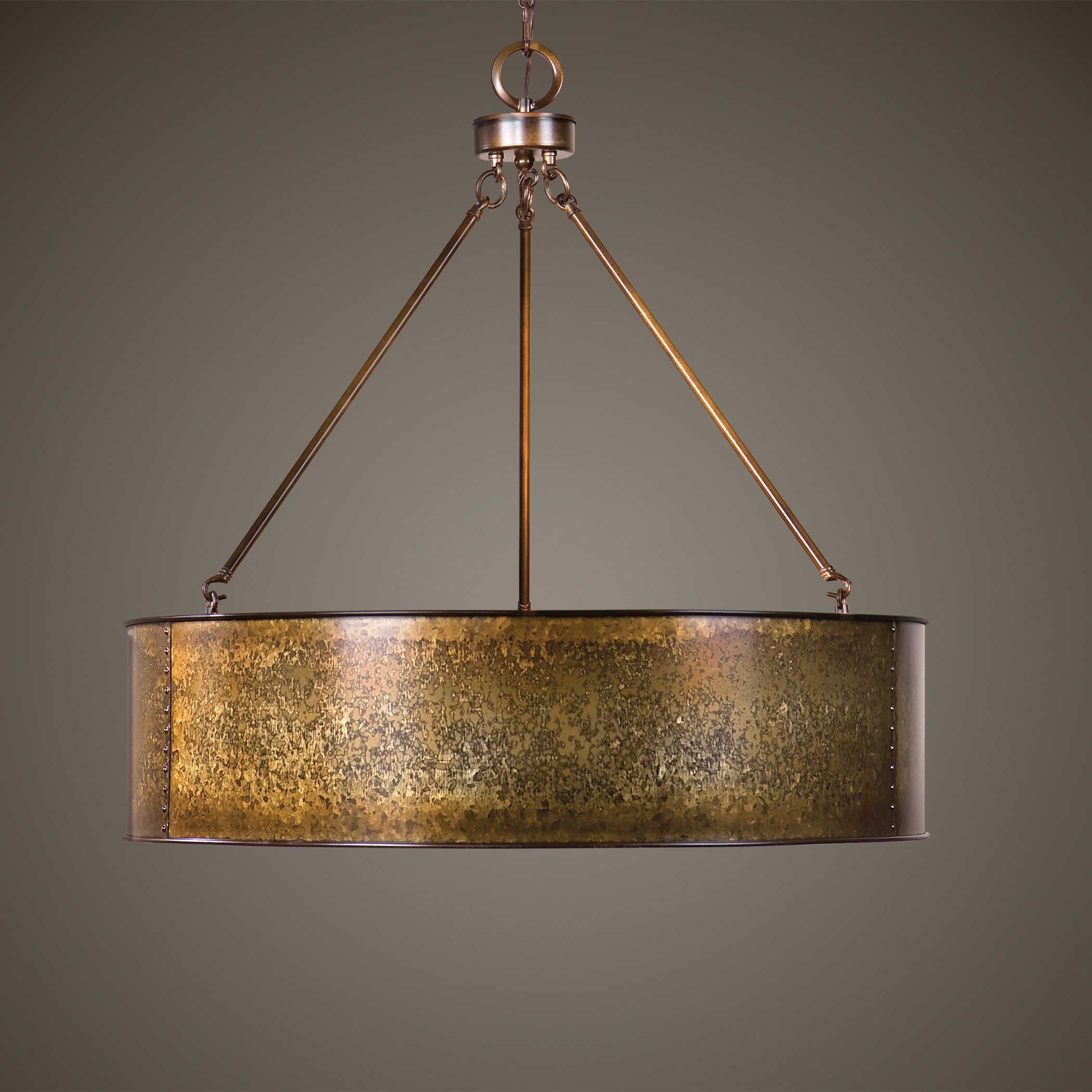 Wolcott 5 Light Golden Pendant Carolyn Kinder International