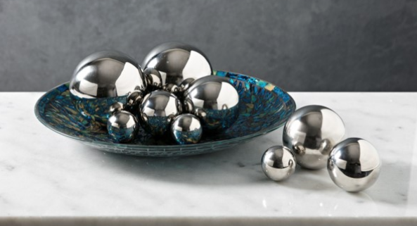 Abbott Steel Decorative Balls