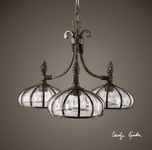 Galeana 3-Light Chandelier