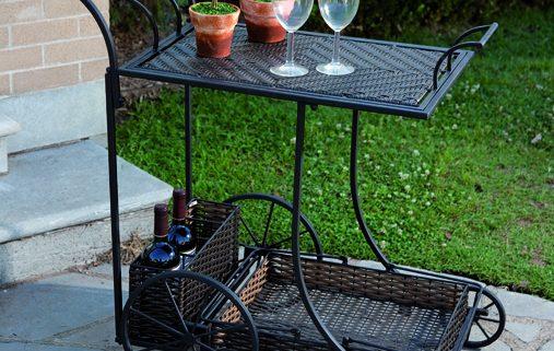 Mandalay Wine Cart