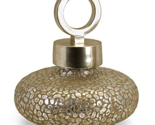 Round Myriad Lidded Vase