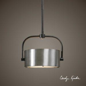 Belding 1-Light Industrial Mini Pendant