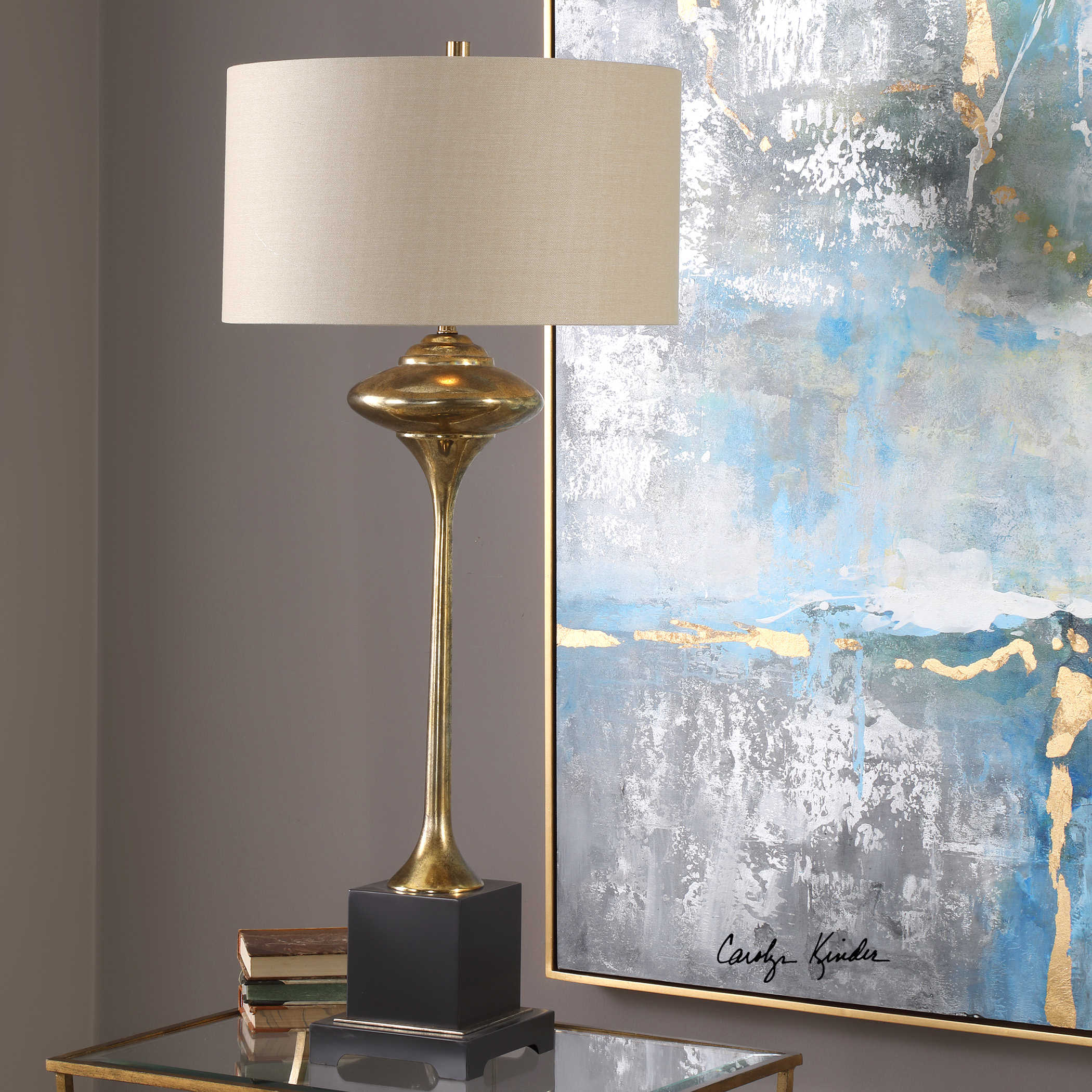 Christiani Gold Lamp