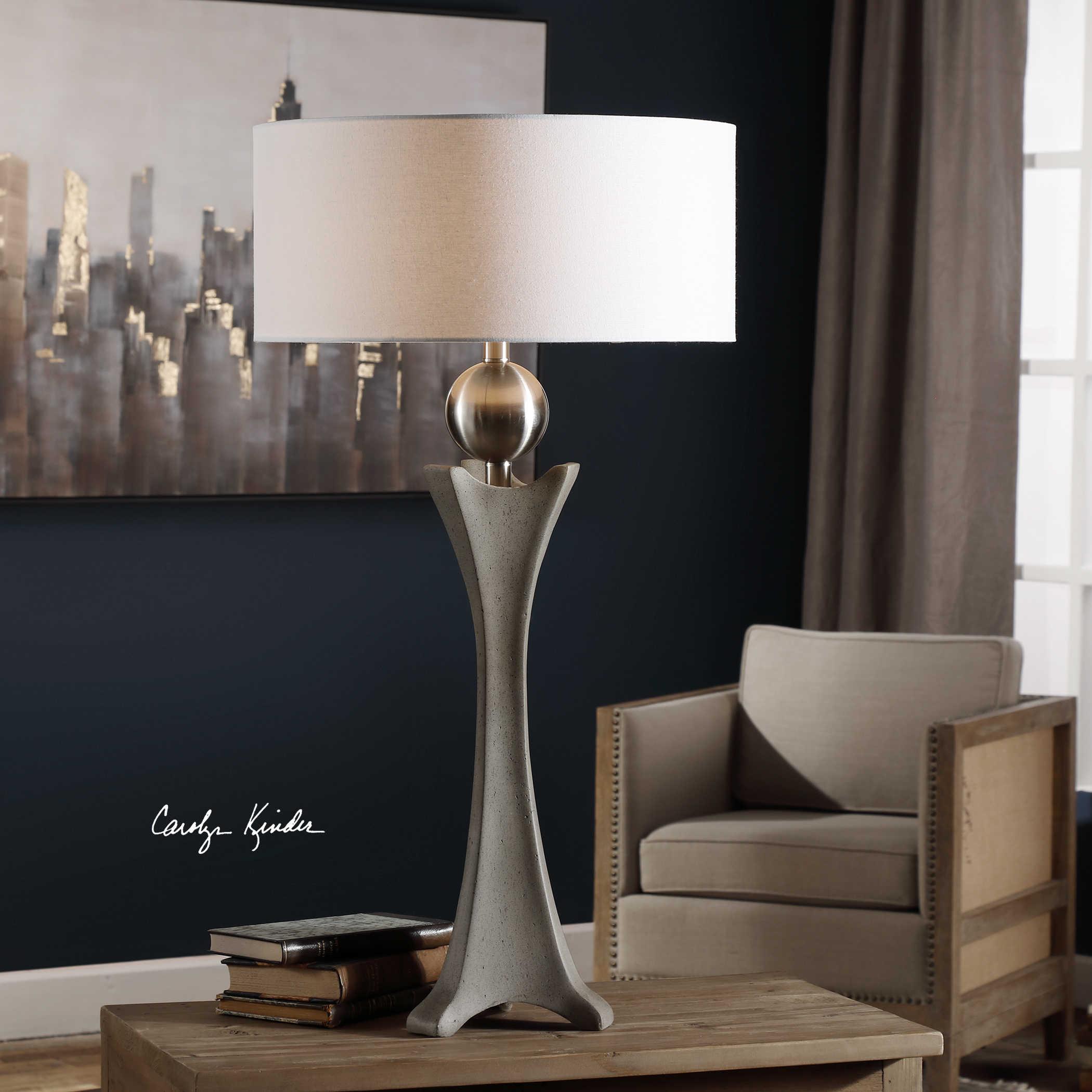 Haver Concrete Shaped Lamp
