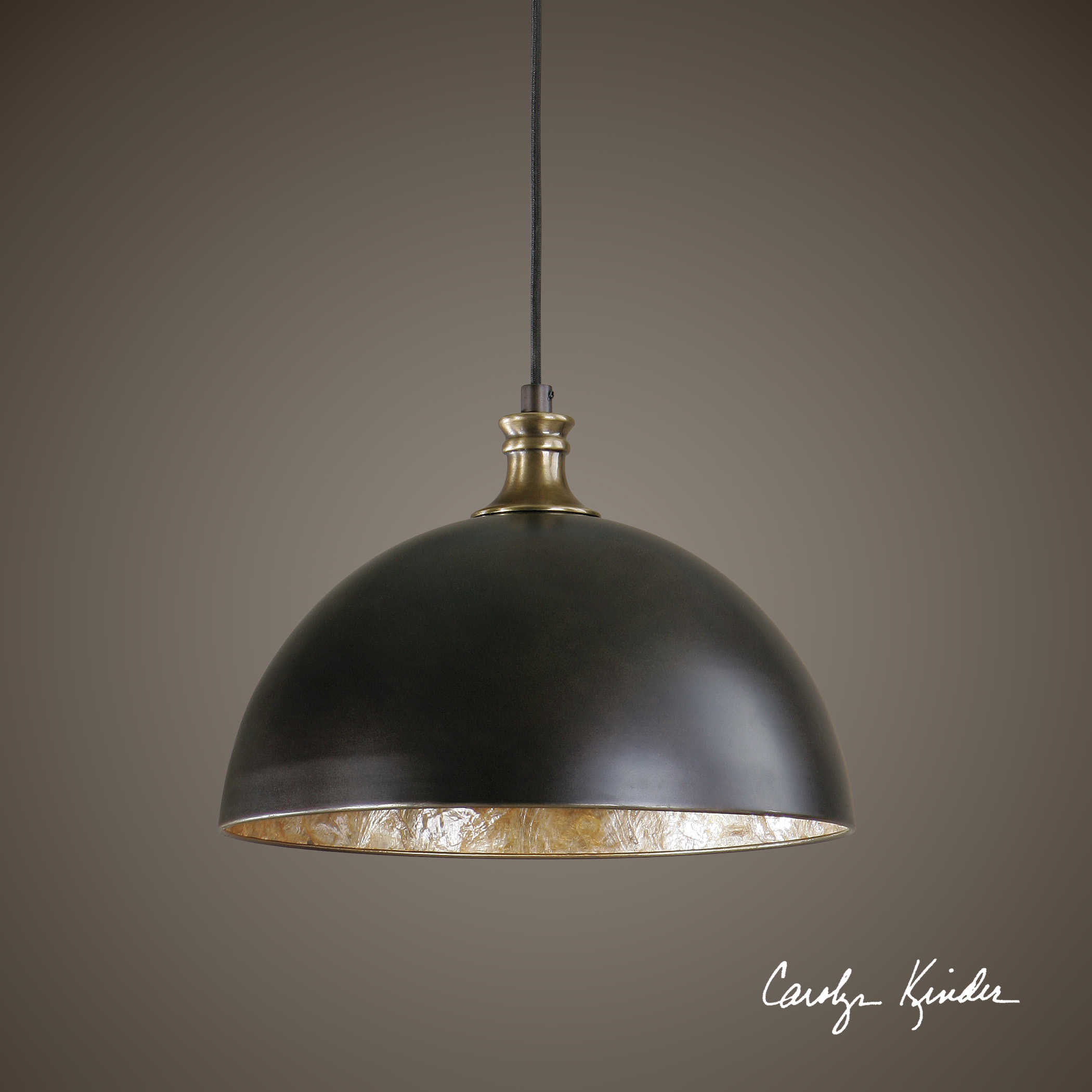 Placuna 1 Light Pendant Carolyn Kinder International