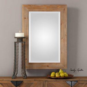Bullock Natural Wood Mirror
