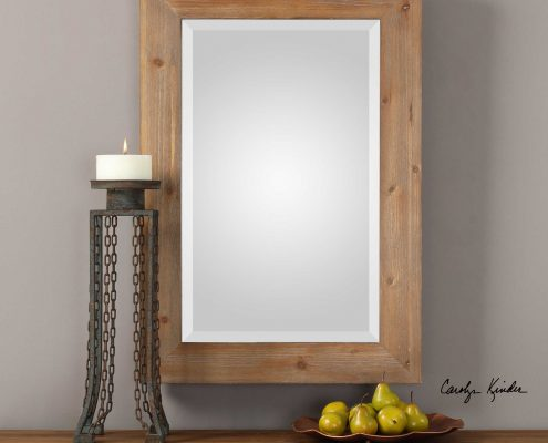 Bullock Natural Wood Mirror