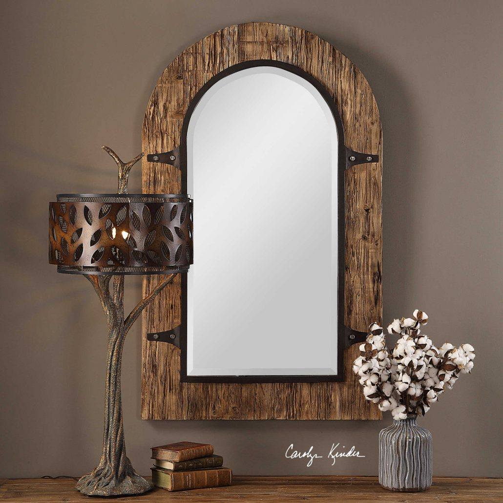 Cassidy Rustic Arch Mirror
