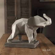 Duke Modern Elephant Sculpture