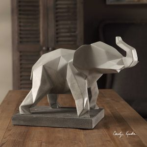Duke Modern Elephant Sculpture