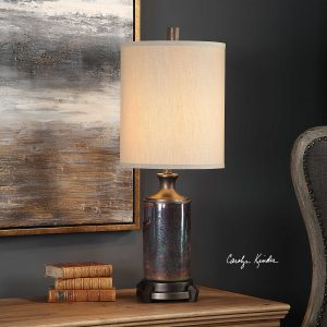 Raeborne Glass Accent Lamp