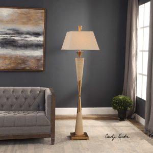 Saahir Mid-Mod Floor Lamp