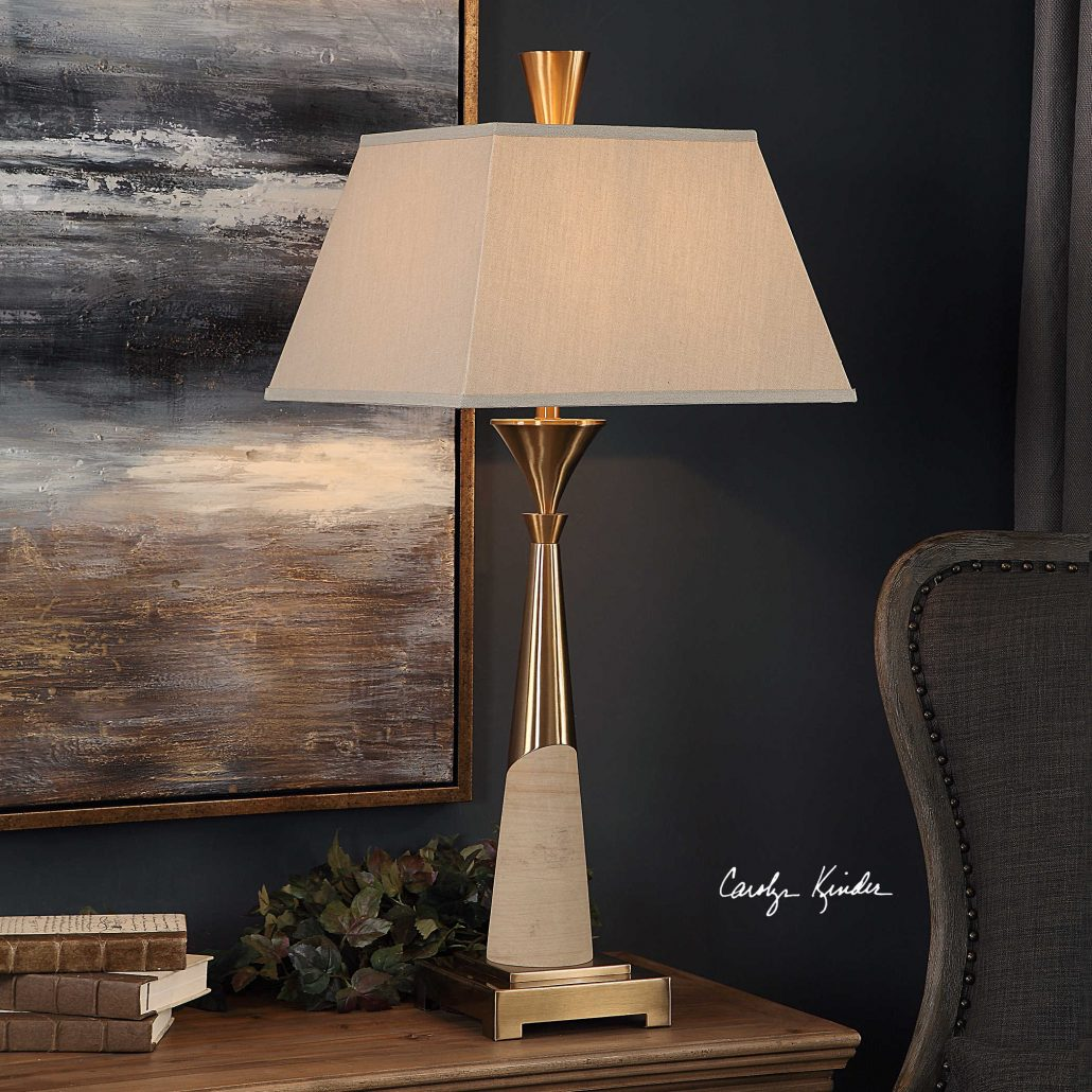 Saahir Mid-Mod Table Lamp