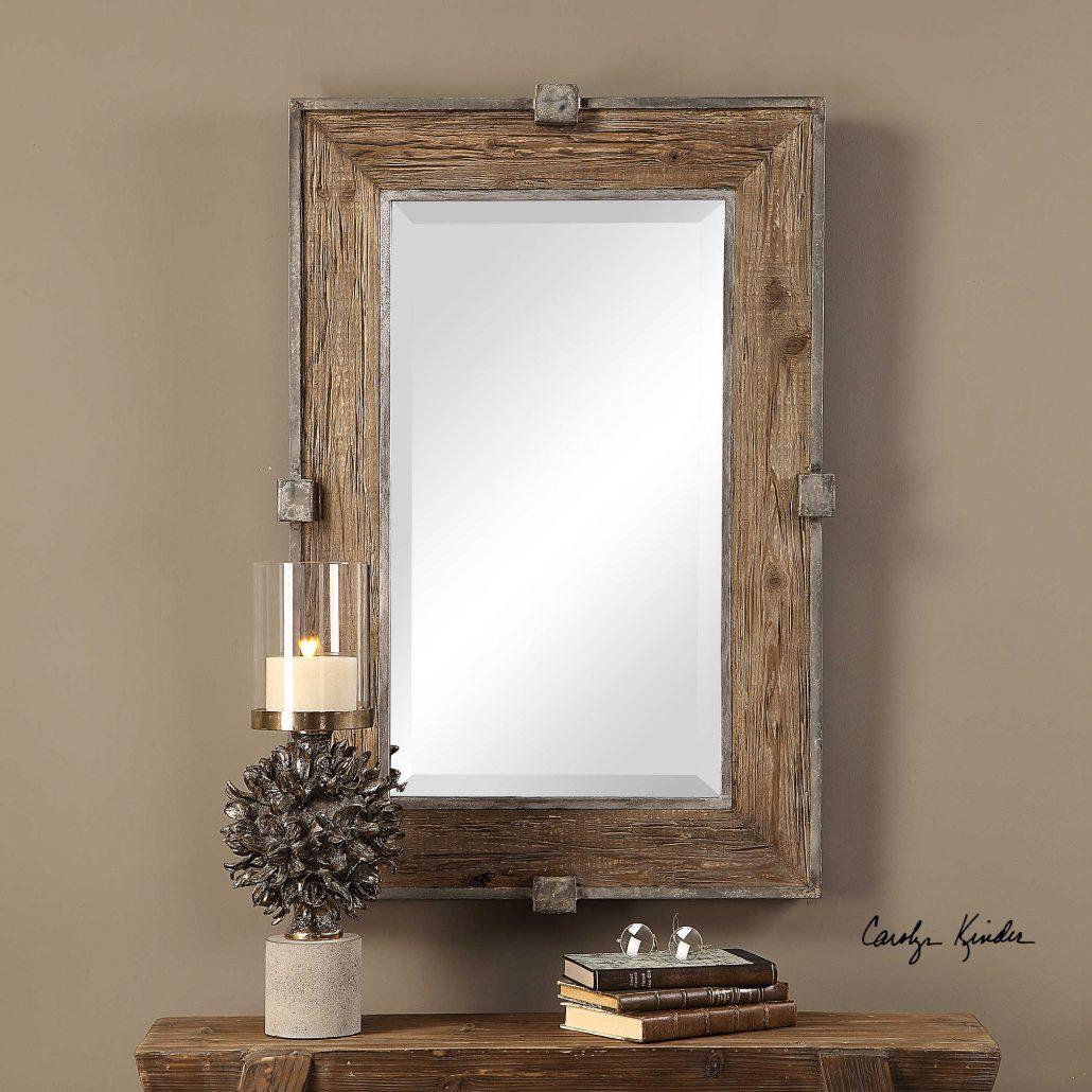 Siringo Rustic Mirror