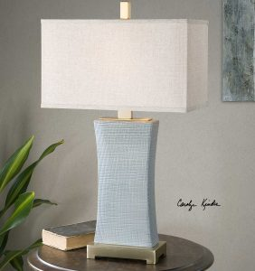 Cantarana Pale Blue Ceramic Lamp