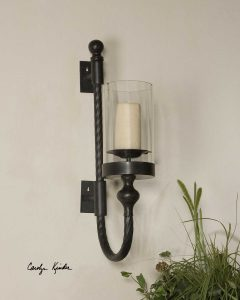Garvin Twist Candle Sconce