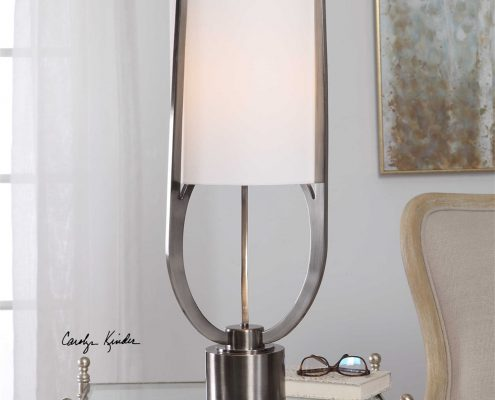 Centino Modern Steel Buffet Lamp