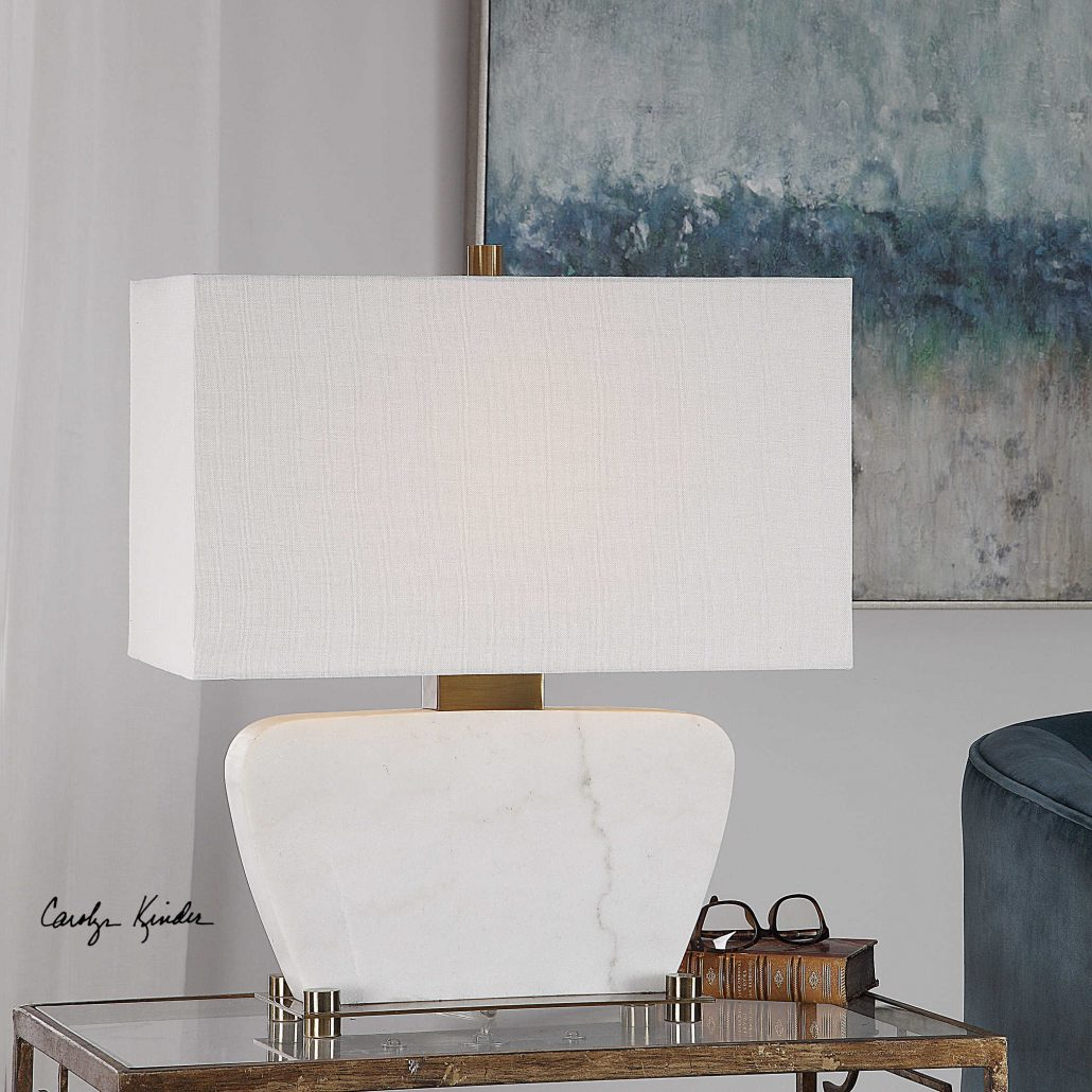 Genessy Marble Table Lamp