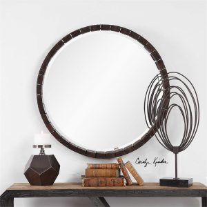 Islay Round Whiskey Barrel Mirror