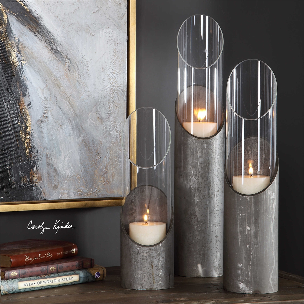 Karter Industrial Candle holders