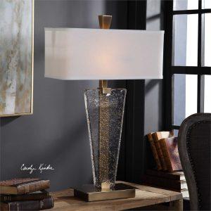Kemper Art Glass Modern Lamp