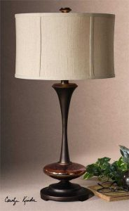 Lahela Distressed Copper Lamp