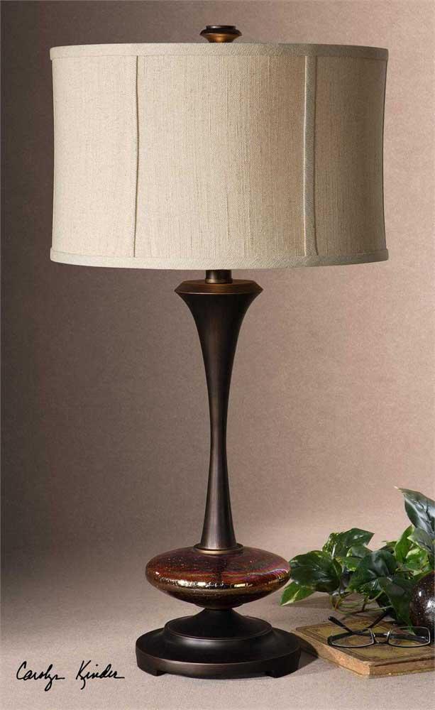 Lahela Distressed Copper Lamp
