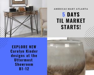5 Days to Atlanta Market