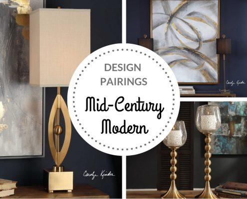 Mid-Century Modern Design Pairings