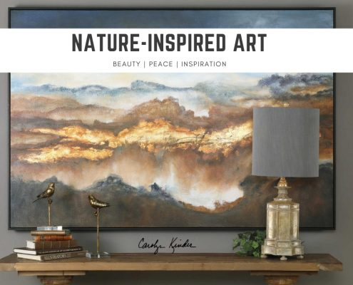 Nature-inspired art