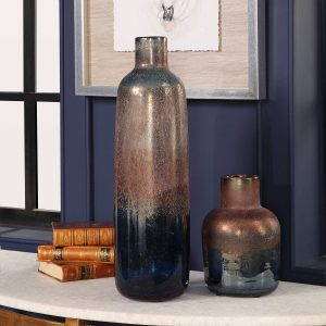 Carolyn Kinder Korbin Blown Glass Vases