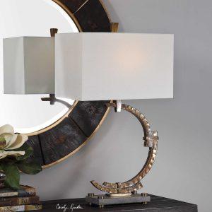 Atria Industrial Crescent Lamp