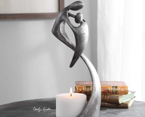 Leading the Way Modern Candle Holder
