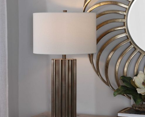 Khalio Industrial Table Lamp