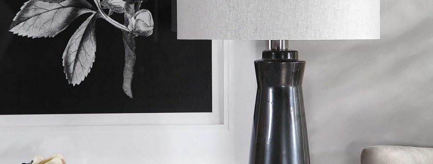 Arlan Modern Black Table Lamp