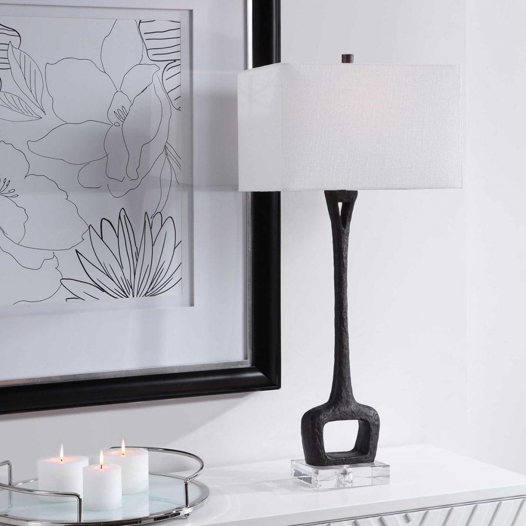 Darbie Iron Table Lamp Carolyn Kinder International