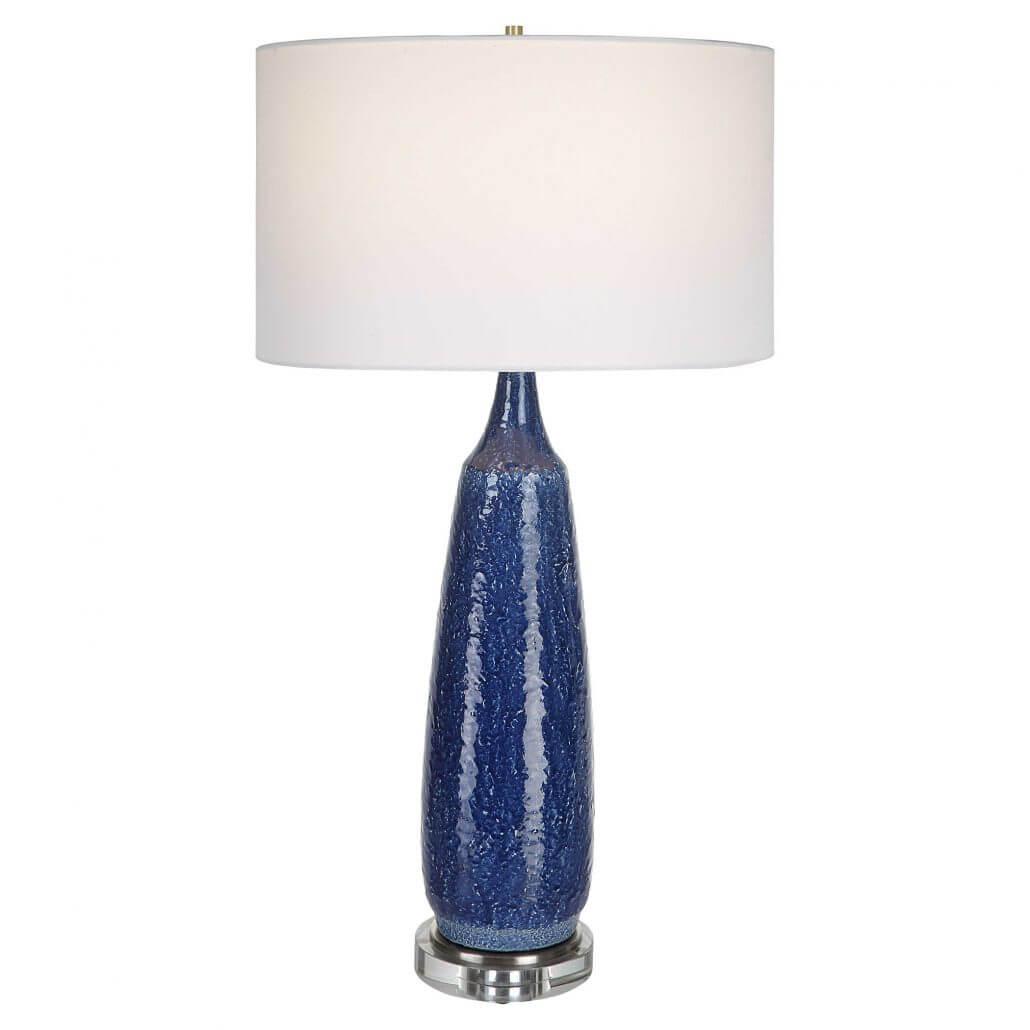 Newport Blue Table Lamp