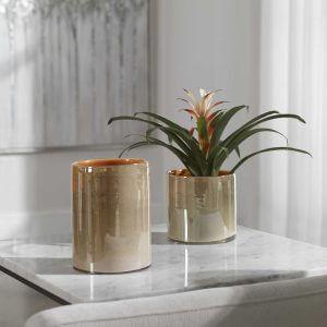 Tangelo Vases